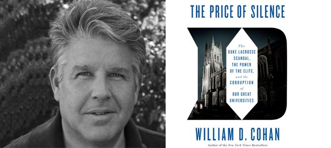 The Price of Silence by Morristown Festival of Books keynote author William D. Cohan